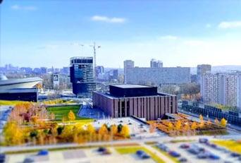 Katowice  widok z góry