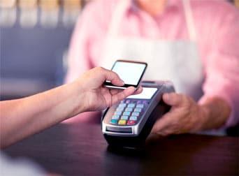 Płatność kartą w terminalu